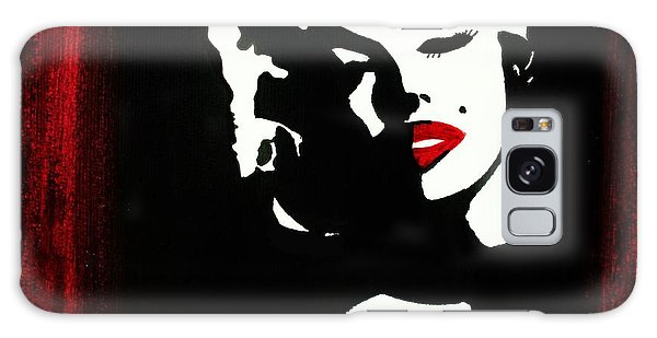Marylin Pop Art Portrait Galaxy Case