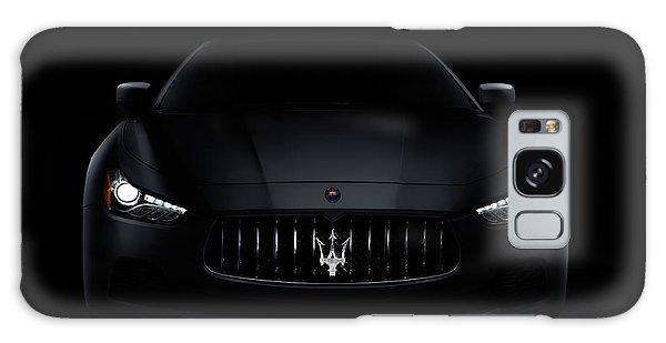Maserati Ghibli S Q4 Luxury Car On Black Galaxy Case