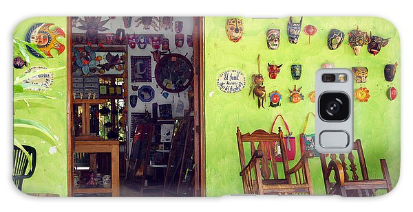 mask shop in Mexico Galaxy Case by Haleh Mahbod