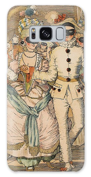 Dance Galaxy Case - Masked Ball by Konstantin Andreevic Somov