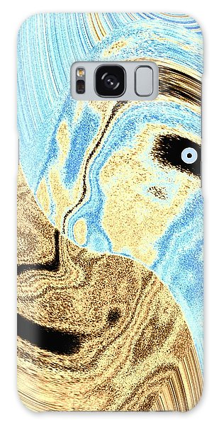Masked- Man Abstract Galaxy Case