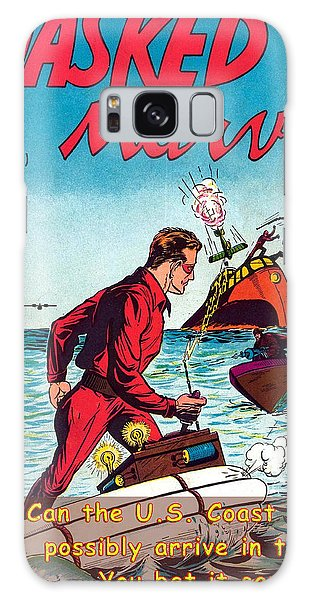 Masked Marvel And The Coast Guard Galaxy Case
