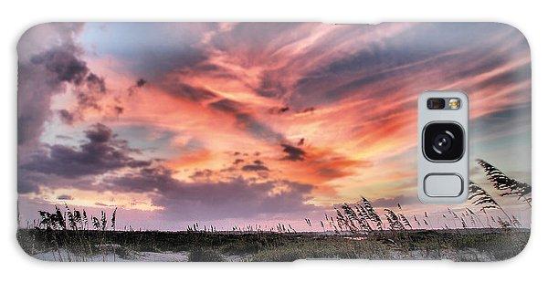 Masonboro Inlet September Sunset Galaxy Case
