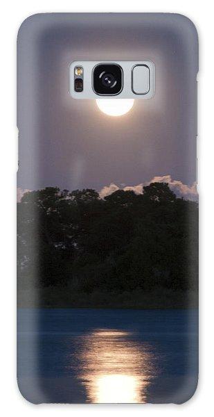 Masonboro Moonrise Galaxy Case by Phil Mancuso