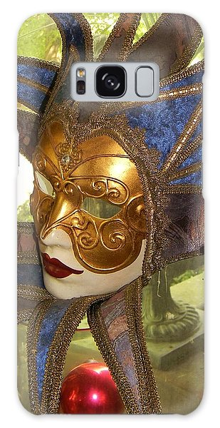 Masquerade Galaxy Case by Jean Goodwin Brooks