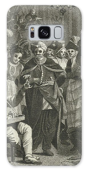 Masquerade, Lambertus Antonius Claessens Galaxy Case by Lambertus Antonius Claessens