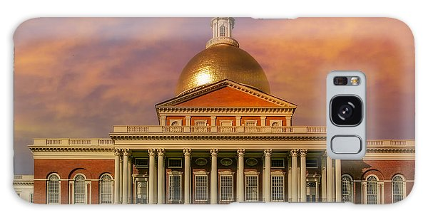 Galaxy Case featuring the photograph Massachusetts State House by Susan Candelario