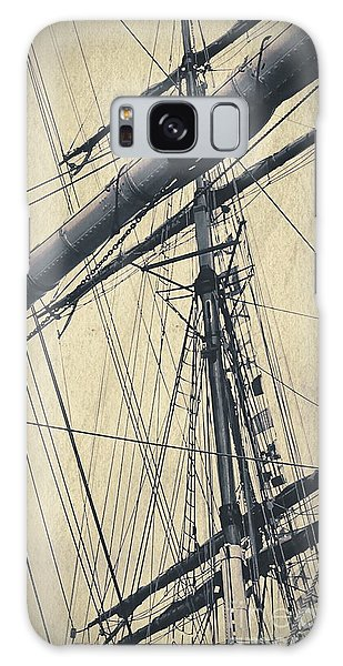 Mast And Rigging Postcard Galaxy Case