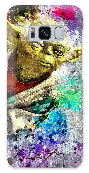 Master Yoda Galaxy Case by Daniel Janda