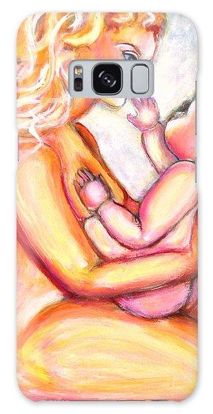 Maternal Bliss Galaxy Case