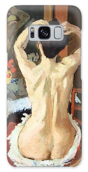 Matisse's La Coiffure Galaxy Case by Cora Wandel