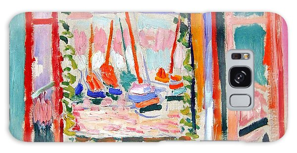 Matisse's Open Window At Collioure Galaxy Case by Cora Wandel