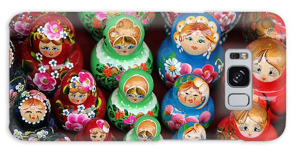 Matryoshka Dolls Galaxy Case