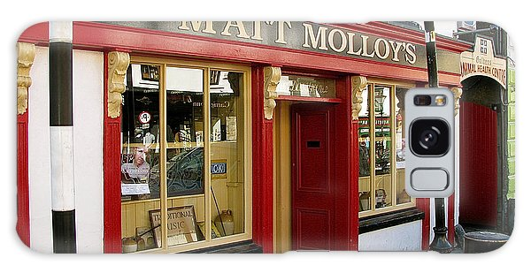 Matt Malloys Pub Westport Ireland Galaxy Case by Melinda Saminski