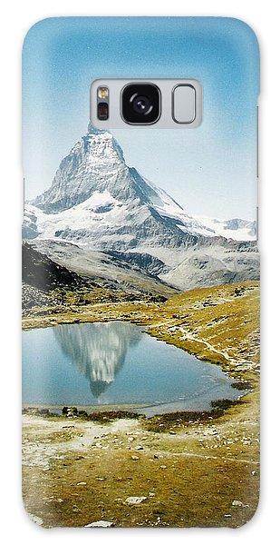 Matterhorn Cervin Reflection Galaxy Case
