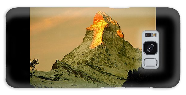 Matterhorn In Switzerland Galaxy Case