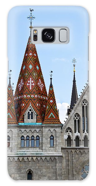 Matyas Church With Glazed Tiles In Budapest Hungary Galaxy Case