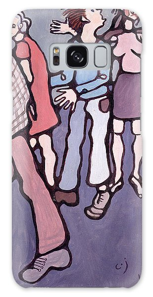 Patient Galaxy Case - Maudsley Hospital Inmates, 1974 Oil On Canvas by Charlotte Johnson Wahl