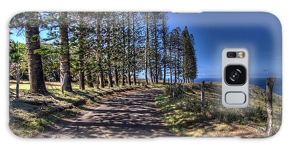Maui Back Roads Galaxy Case