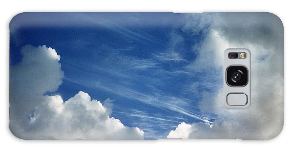 Maui Clouds Galaxy Case by Evelyn Tambour