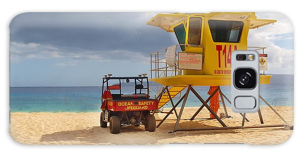 Maui Lifeguard Tower Galaxy Case