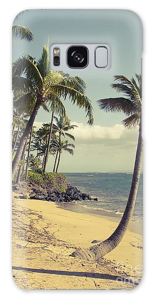 Galaxy Case featuring the photograph Maui Lu Beach Hawaii by Sharon Mau