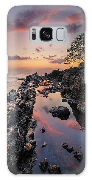 Maui Reflections Galaxy Case by Hawaii  Fine Art Photography