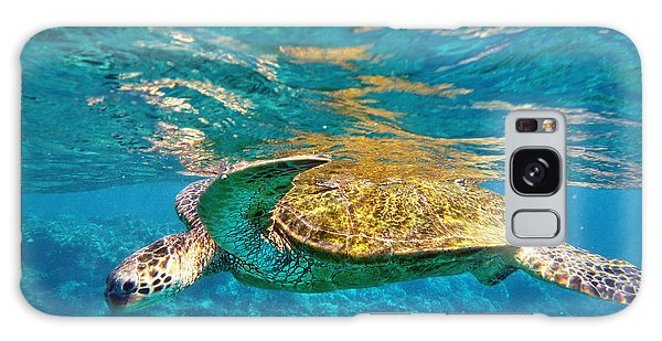 Maui Sea Turtle Galaxy Case