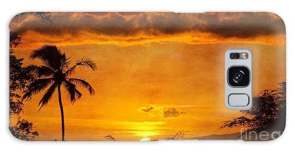 Maui Sunset Dream Galaxy Case