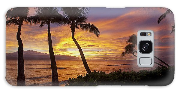 Maui Sunset Galaxy Case by James Roemmling