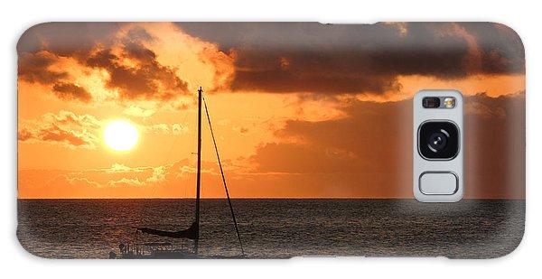 Maui Sunset Galaxy Case by Shane Kelly
