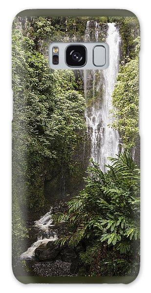 Maui Waterfall Galaxy Case