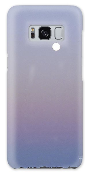 Mauve Moonlight Galaxy Case