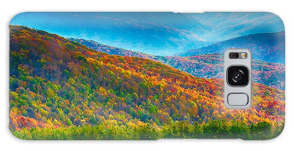 Max Patch Bald Fall Colors Galaxy Case