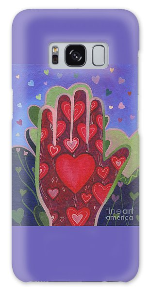 May We Choose Love Galaxy Case by Helena Tiainen