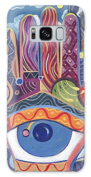 May You Realize Your Dreams Galaxy Case by Helena Tiainen
