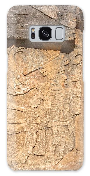 Mayan Frieze Galaxy Case