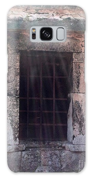 Mayan Ruins Sunlit Window Galaxy Case