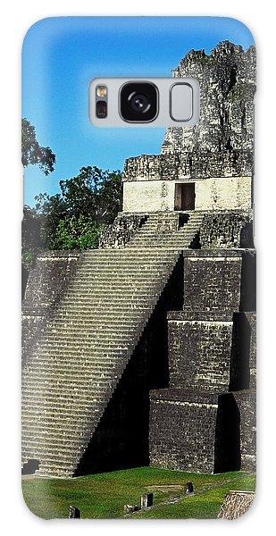 Mayan Ruins - Tikal Guatemala Galaxy Case by Juergen Weiss