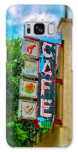Mayflower Cafe Sign Galaxy Case