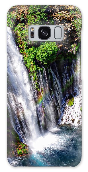 Mcarthur Burney Falls Rainbow Galaxy Case