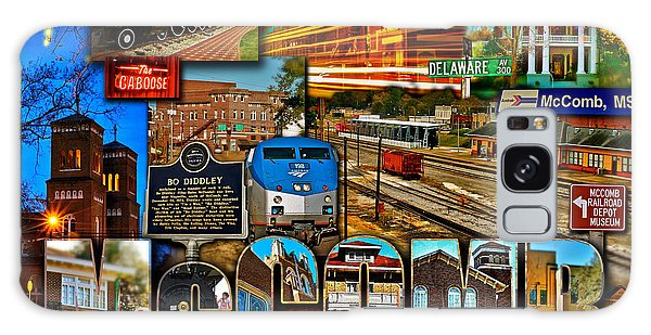 Mccomb Mississippi Postcard 2 Galaxy Case