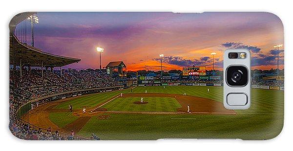 Mccoy Stadium Sunset Galaxy Case by Tom Gort