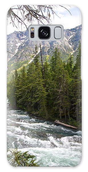 Mcdonald Creek In Glacier Np-mt Galaxy Case