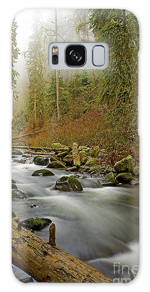 Mcdowell Creek Landscape Galaxy Case by Nick  Boren