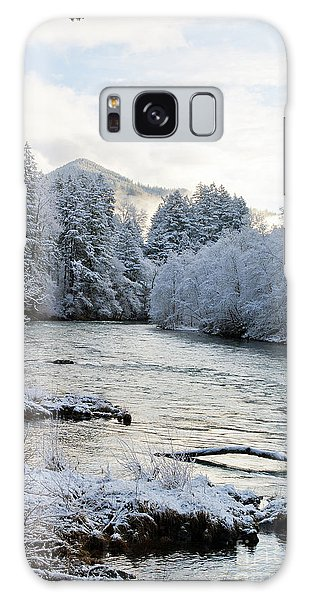 Mckenzie River Galaxy Case by Belinda Greb