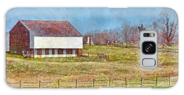 Mcpherson's Barn At Gettysburg National Military Park Galaxy Case