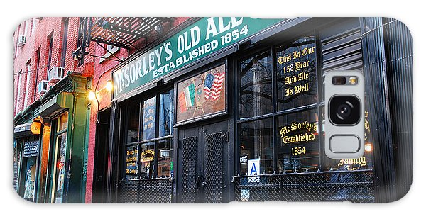 Mcsorley's Old Ale House Galaxy Case by James Kirkikis