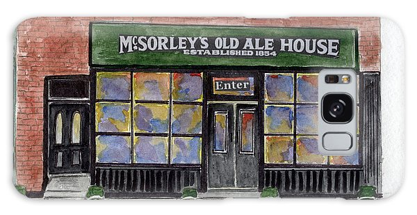 Mcsorley's Old Ale House Galaxy Case by AFineLyne