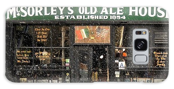 Mcsorley's Old Ale House During A Snow Storm Galaxy Case